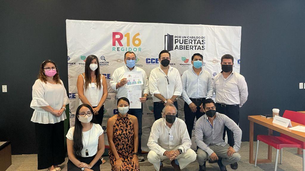 Firma de compromiso Jorge Rodríguez