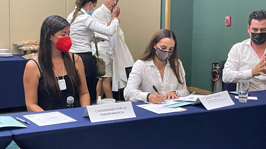 Firma de compromiso Ana Patricia